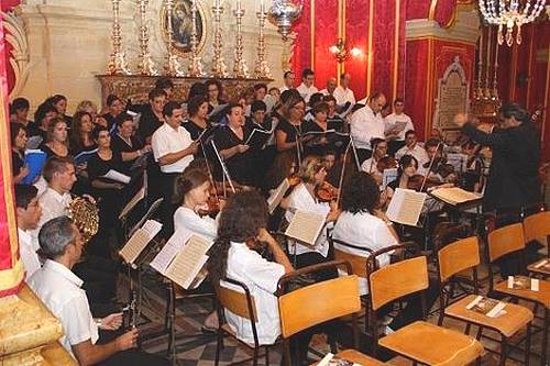 Gaulitanus Choir takes part in Rev. M Grech's Prima Messa