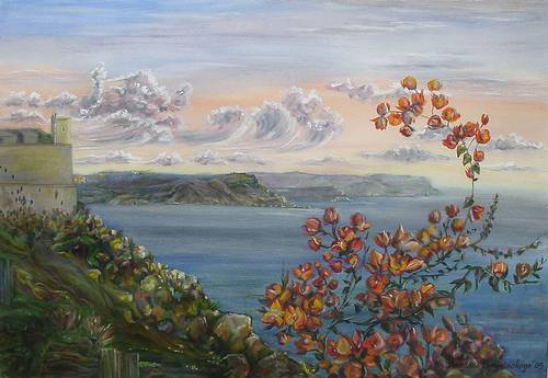 'Gozo Still Lifes' Art Exhibition currently being held at Qbajjar
