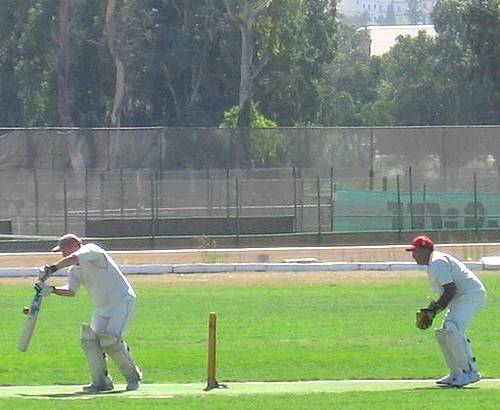Betfair C.C plays RMG C.C in the Malta Summer League