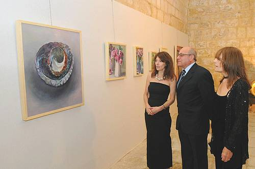 'Percival and Noble' exhibition inaugurated at the Cittadella