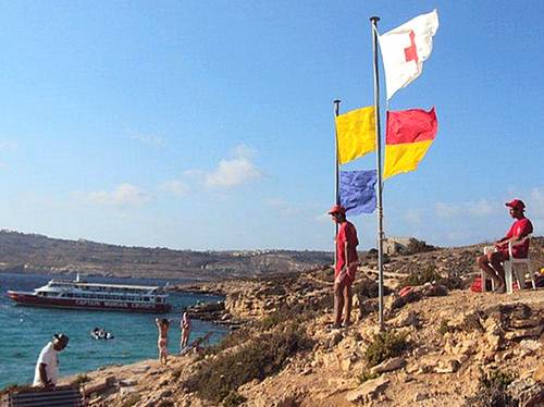 Red Cross Gozo Lifeguards treated over 150 cases in July