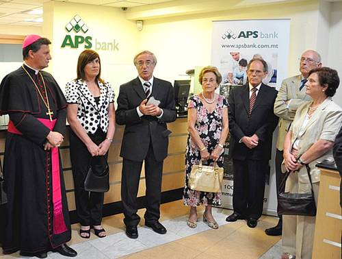 APS Bank opens it's newly renovated branch in Victoria
