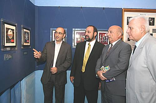 MaltaPost exhibits Emvin Cremona's postage stamp artworks