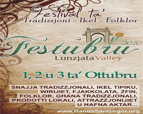 Festubru 2010 Tradition – Food - Folklore at Lunzjata Valley
