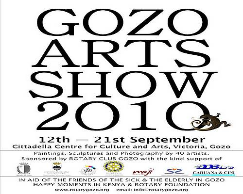 Gozo's fourth annual Art Show - 'A feast for the eyes'
