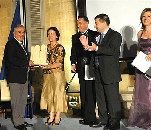 Gozo General Hospital Worker of the Year presentation