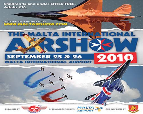 The Malta International Airshow being held this month
