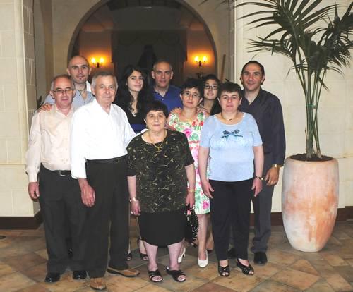 The Portelli family celebrates 50th wedding anniversary