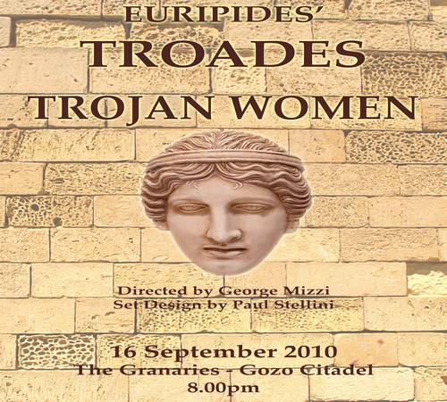 Trojan Women by Euripides at Gozo Creative Theatre Club