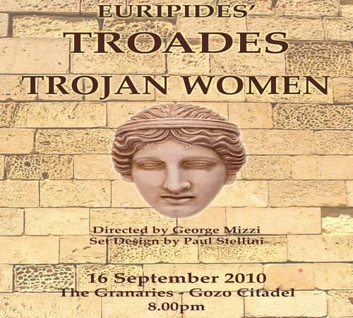 Trojan Women by Euripides at Gozo Creative Theatre Club