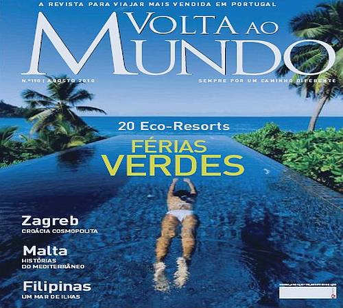 Gozo and Malta featured in Portugal's Main Travel Magazine