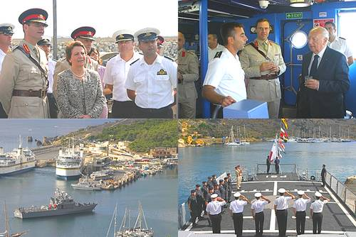 The AFM held their first-ever Open Day in Gozo yesterday