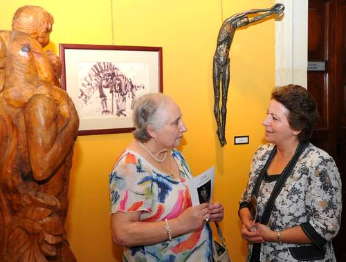 Exhibition of sculptures by the late Aton Agius inaugurated