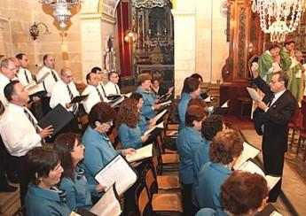 Chorus Urbanus animates solemn Mass at Gozo Cathedral