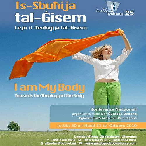 Dar Guzeppa Debono anniversary conference - I am my body