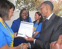 San Lawrenz's Francine Caruana praises Rwanda programme