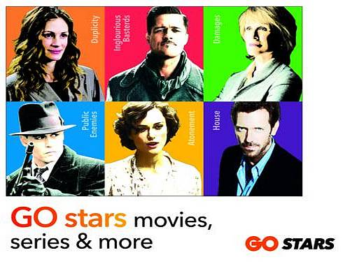 GO announces launch of new movie channel - GO stars