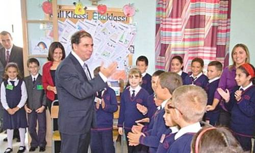 Nadur Primary School welcomes visit from the President