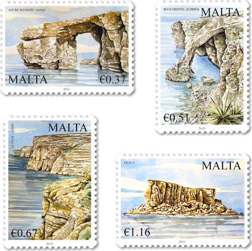 Treasures of Malta stamp issue features Dwejra & Ta' Cenc