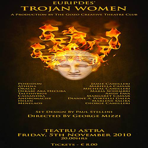 'Trojan Women' by The Gozo Creative Theatre Club