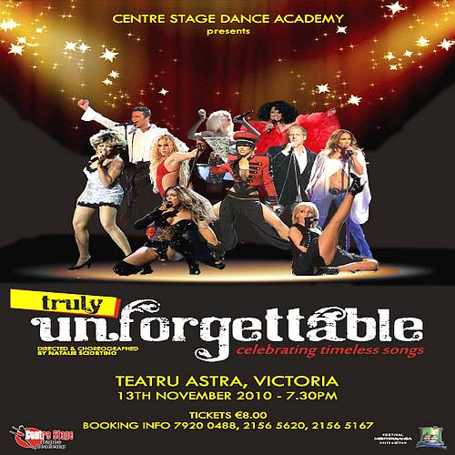 'Truly Unforgettable' Dance Show ' At the Astra Theatre
