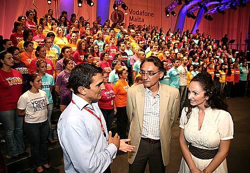 Vodafone Malta Foundation sponsors the Voices Choir