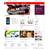 Customers design new the Vodafone web experience