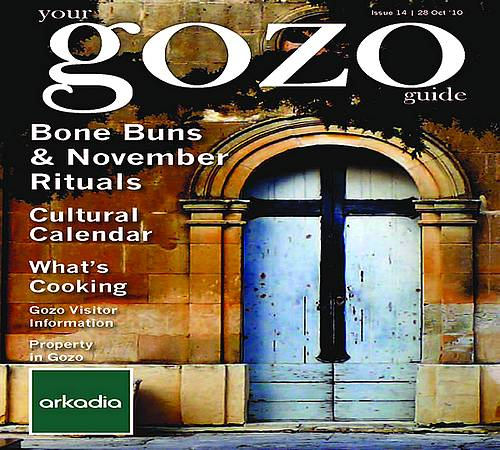 Your Gozo Guide: The November issue is out this weekend