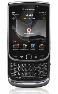 Vodafone introduces customers to the BlackBerry Torch