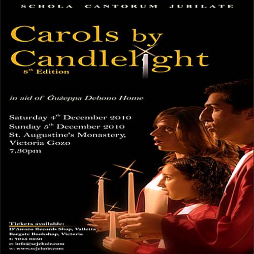 Schola Cantorum Jubilate's Carols by Candlelight 8th Edition