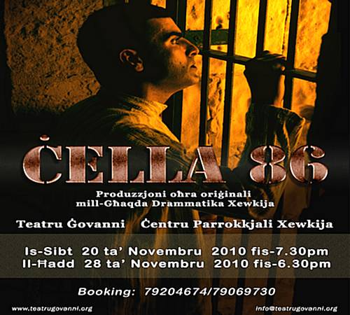 Cella 86 - A production by Ghaqda Drammatika Xewkija