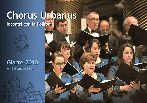 Chorus Urbanus publish Italian souvenir booklet for Sicily