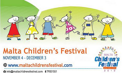 Malta Children's Festival to mark World Children's Day