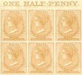 Celebrating the 150th Annivesary of the first Malta Stamp