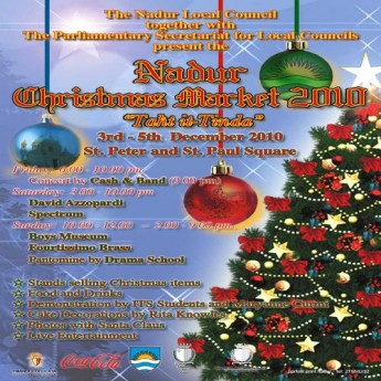 The 6th edition of the Nadur Christmas Market 2010