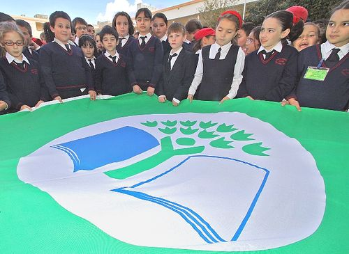 Nadur Primary School presented with the Green Flag Award