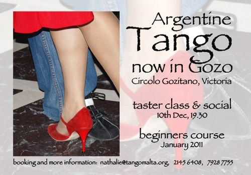 A free taster class for the Argentine Tango in Victoria