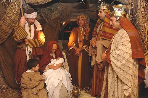 The Adoration of the Magi at Bethlehem f' Ghajnsielem 2011