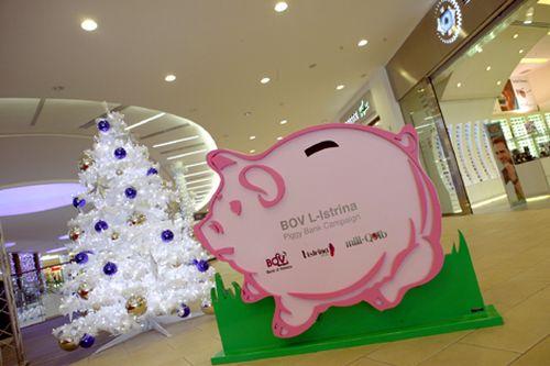 BOV Istrina Piggy Banks placed in areas around Malta