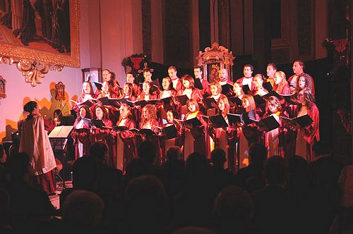 Schola Cantorum's 8th edition of Carols by Candlelight
