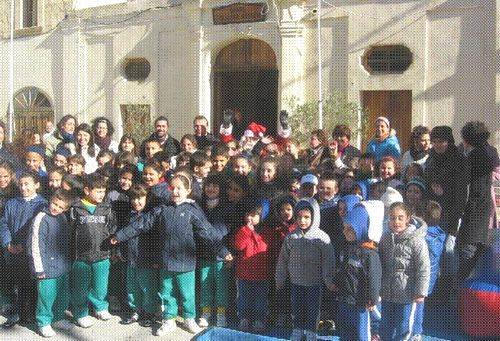 Childrens Christmas event held in Gharb at the weekend