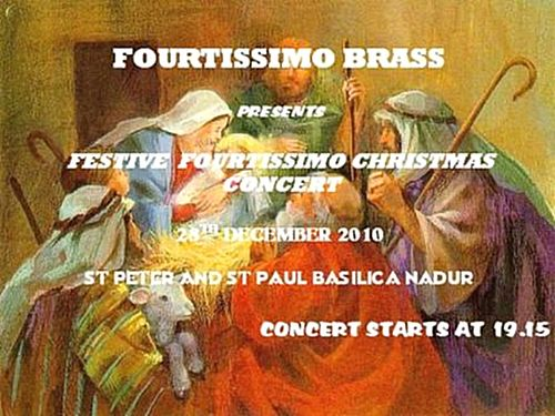 Fourtissimo Brass Christmas Concert to be held in Nadur