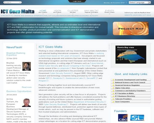 GBC unveils ICTGozoMalta - A forward looking ICT Portal