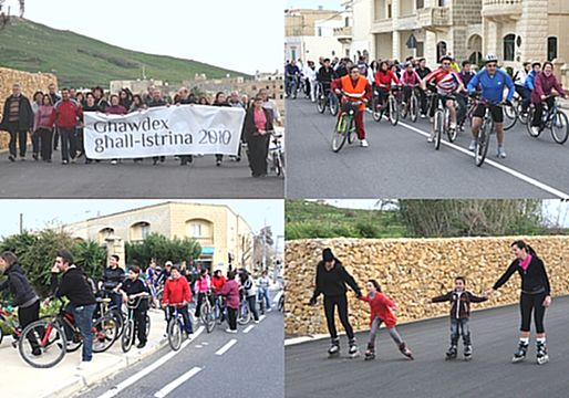 Eco-Cycle and Fun Walk held for L-Istrina a great success
