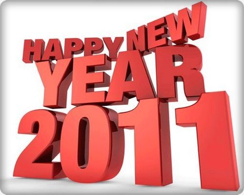 Wishing all our readers a very Happy New Year for 2011