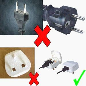 Christmas lights must be supplied with correct 3-pin plugs