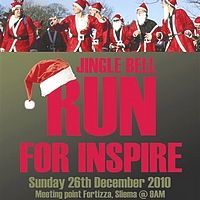 Jingle Bell Run on Boxing Day in Sliema in aid of Inspire