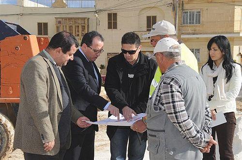 Parliamentary Secretary Chris Said visits projects in Kercem