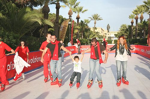 Put your skates to the test with Vodafone at Arkadia