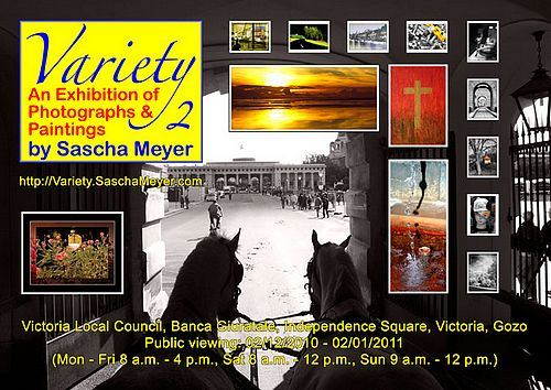 Variety 2 - Exhibition of photographs & paintings in Victoria